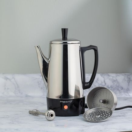 Presto® Stainless Steel Percolator-345513