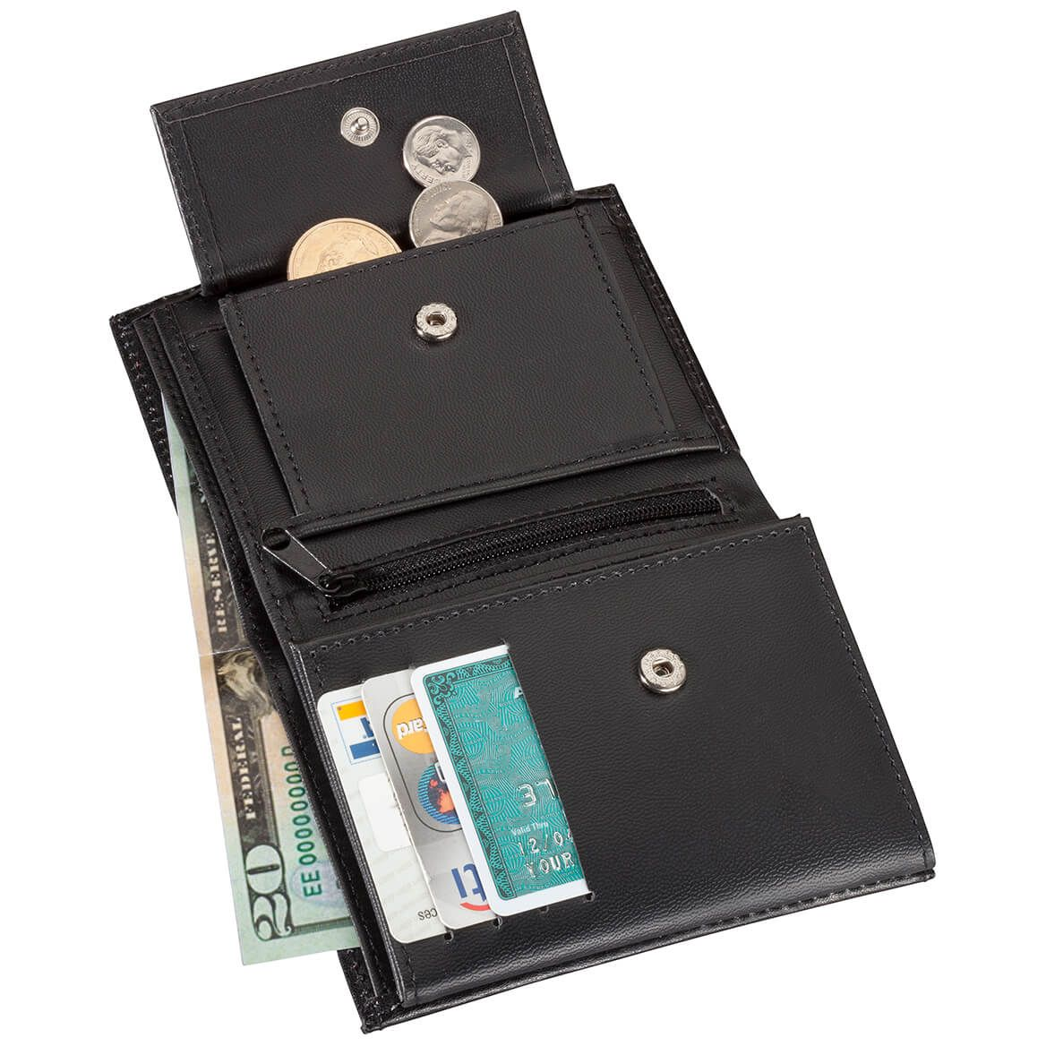 Leather RFID Wallet - 20 pockets-345760