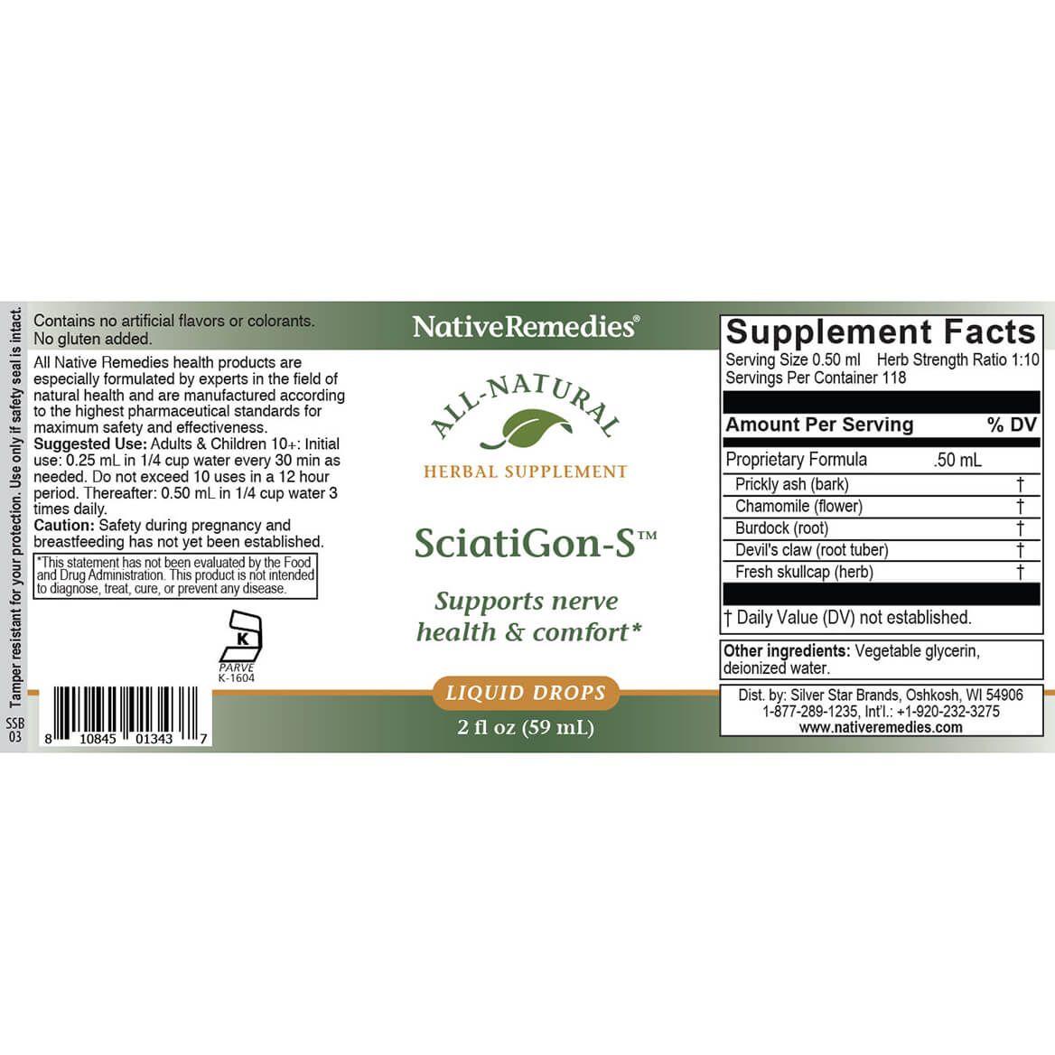 NativeRemedies® SciatiGon-S™-346104