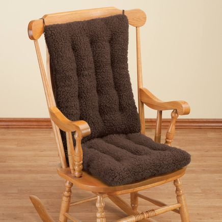 Sherpa Rocking Chair Cushion Set by OakRidge™-346504
