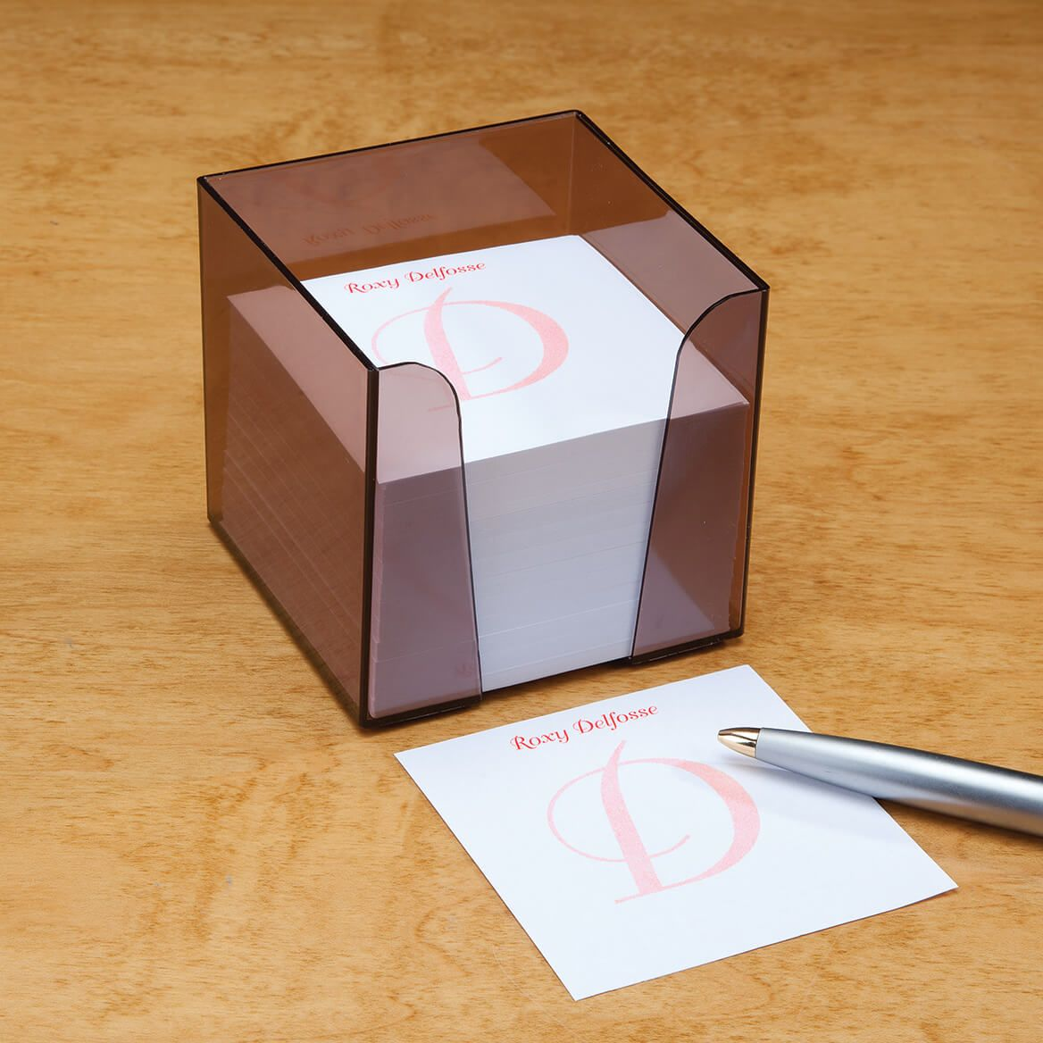 Personalized Note Sheets with Cube-346841