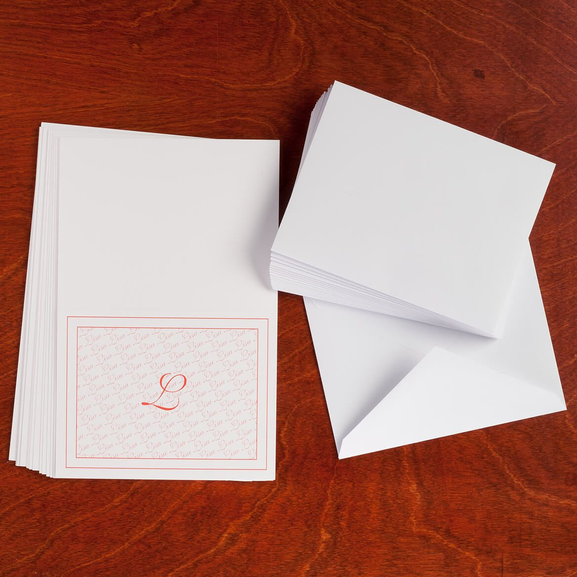 Personalized Monogrammed Note Cards, Set of 25-346845