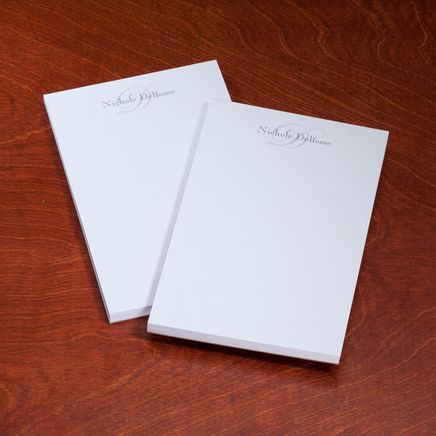 Personalized Script Notepads - Set Of 2-346901
