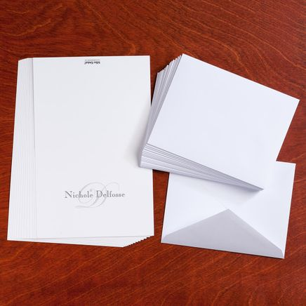 Personalized Script Note Cards - Set Of 25-346902