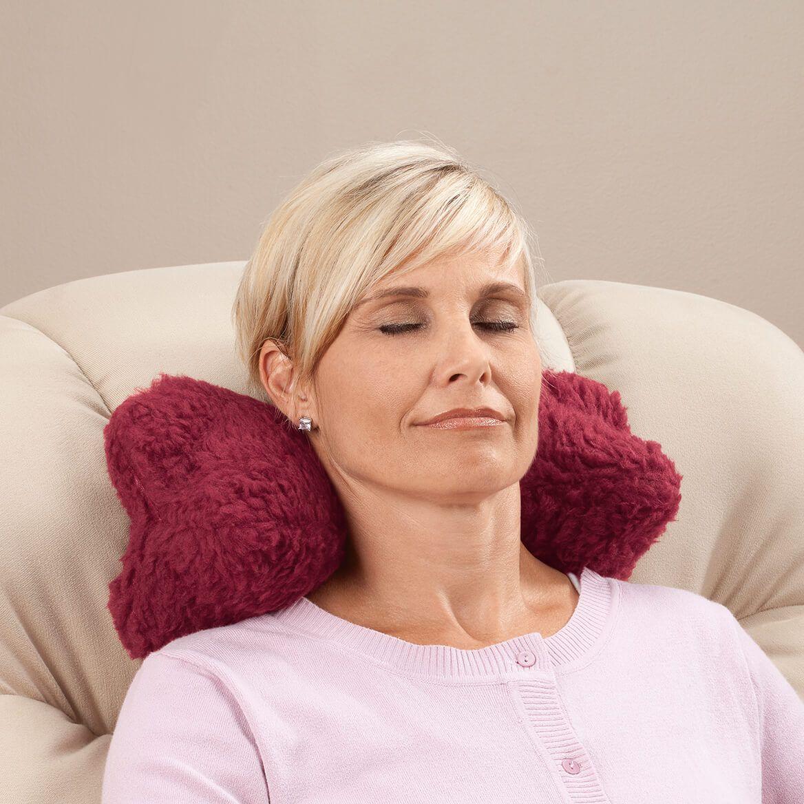 Sherpa Neck Cradle Pillow by OakRidge™-347693