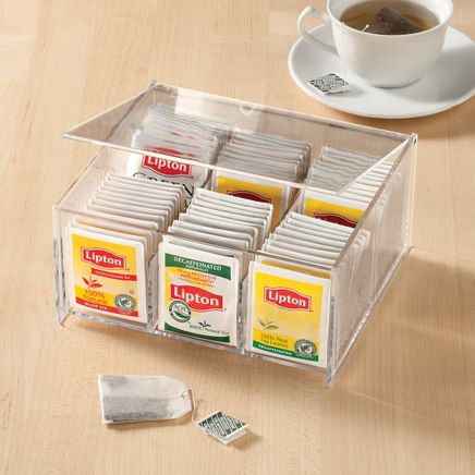 Acrylic Tea Bag Box-347851