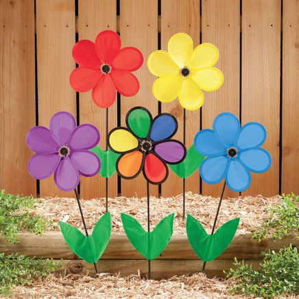 Colorful Flower Wind Spinners-348053