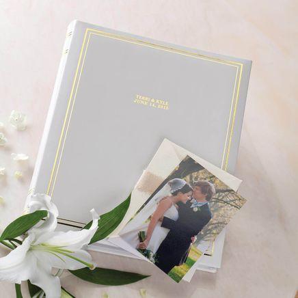 Ultimate Wedding Leather Memo Album Personalized-348140