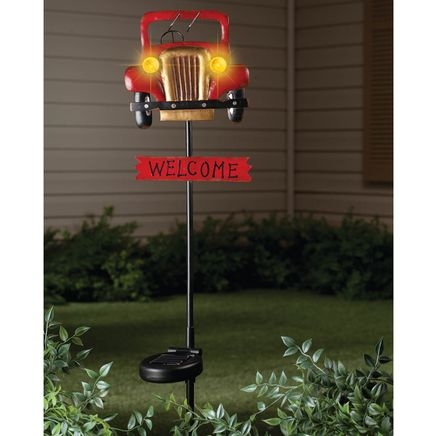 Antique Car Solar Stake by Fox River Creations™-348350