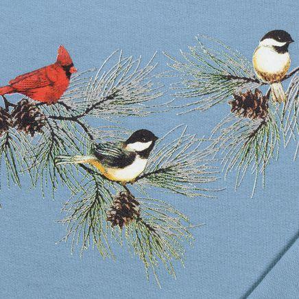 Chickadees & Cardinal Sweatshirt By Sawyer Creek Studio™-348968