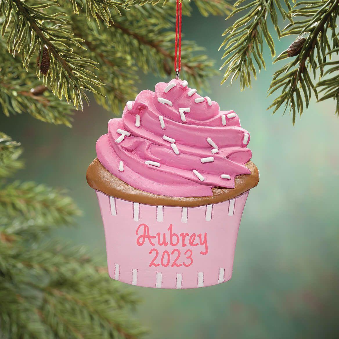 Personalized Cupcake Ornament-349263