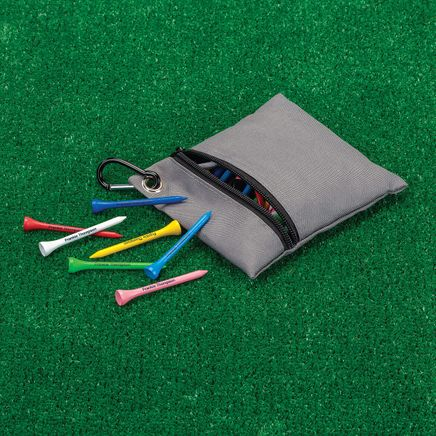 Personalized Colored Golf Tees with Case-349644