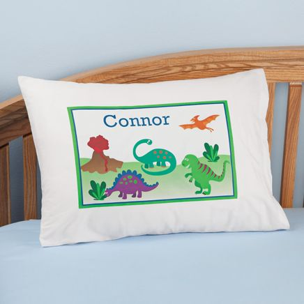 Personalized Dinosaur Pillowcase-350017