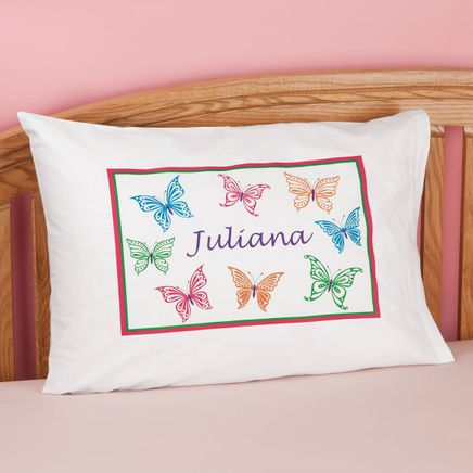Personalized Butterflies Pillowcase-350018