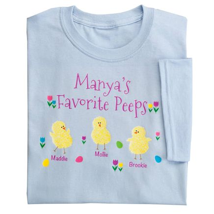 Personalized Favorite Peeps T-Shirt-350846