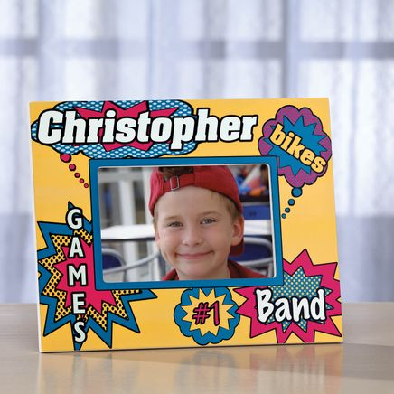 Personalized Comic Book Photo Frame-350969