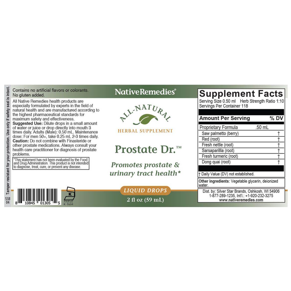 NativeRemedies® Prostate Dr.™-351027