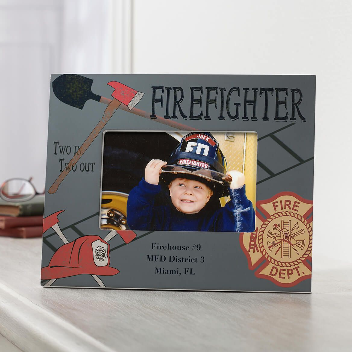 Personalized Firefighter Frame-351318