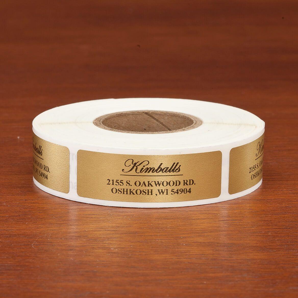 Elegant and Centered Address Labels, 500-351393