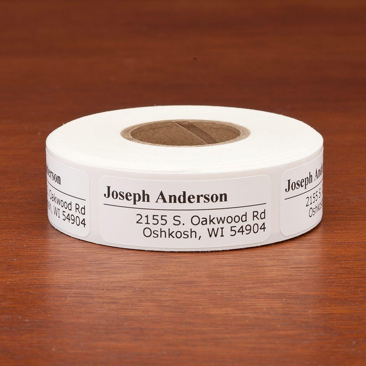 Off-Centered Address Labels, 500-351395