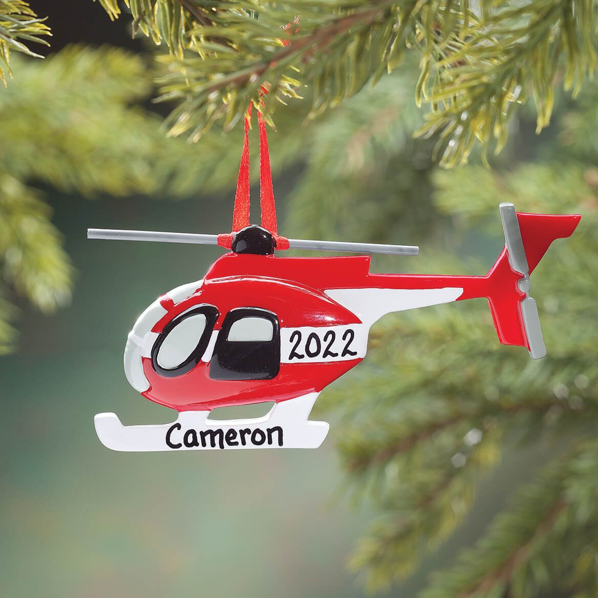 Personalized Helicopter Ornament-353317