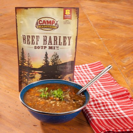 Camp Traditions Beef Barley Soup-353495