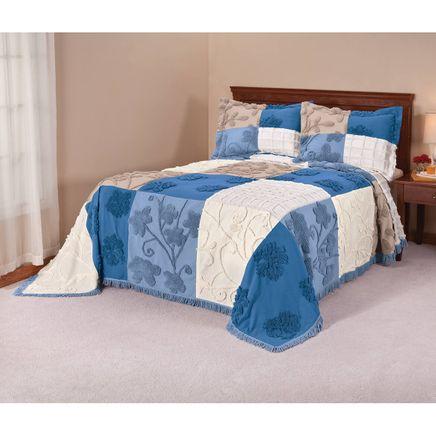 Patchwork Chenille Bedspread by OakRidge™-353591