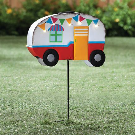 Vintage Camper Yard Stake by Fox River™ Creations-353985