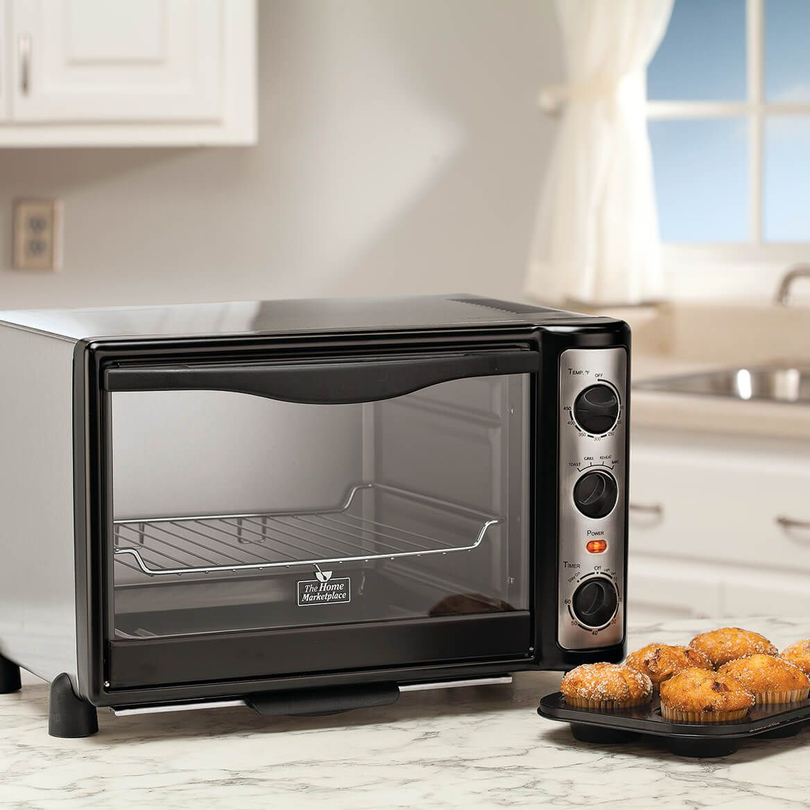 Toaster Oven by The Home Marketplace    XL-354271