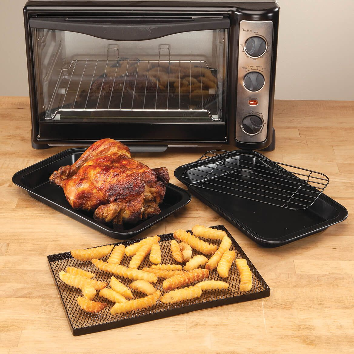 Toaster Oven Pans by Home-Style Kitchen ™ - Set of 3-354275