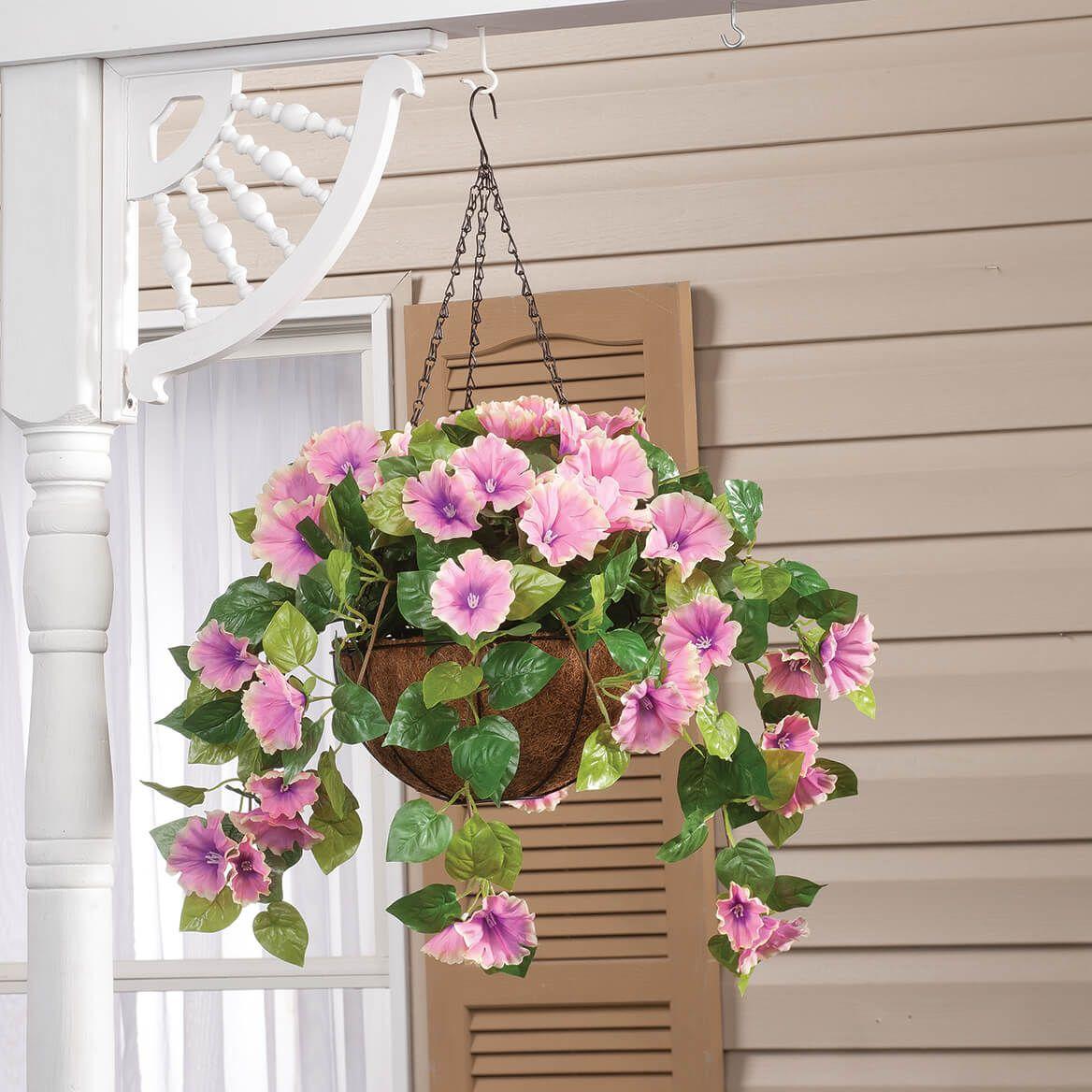 Fully Assembled Petunia Hanging Basket by OakRidge™-355014
