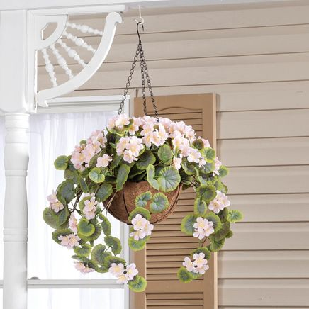 Fully Assembled Geranium Hanging Basket by OakRidge™-355015