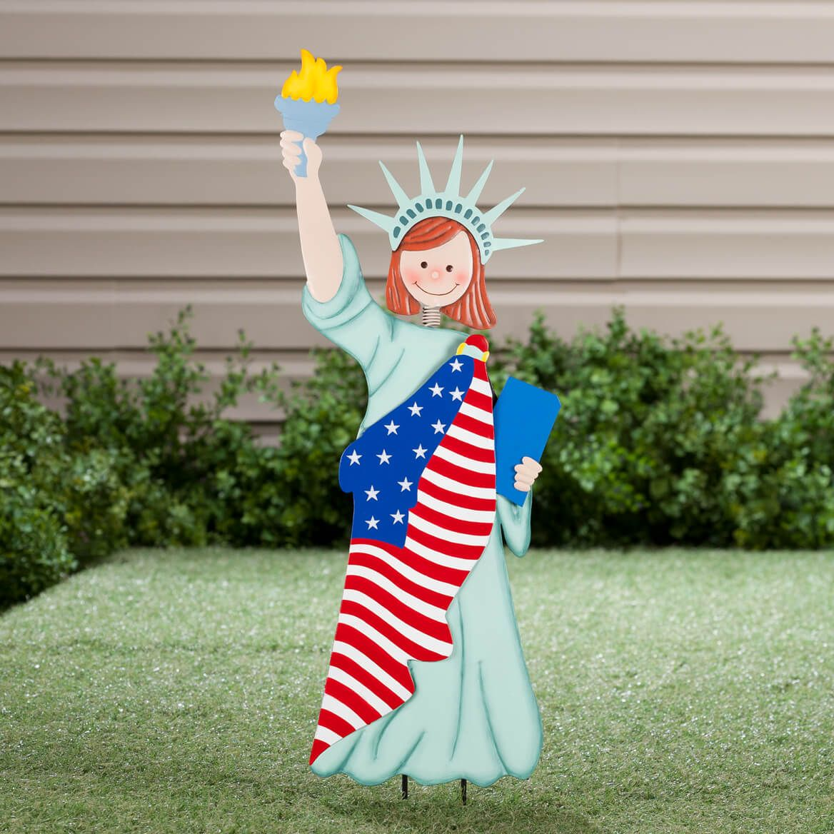 Statue of Liberty Garden Girl by Fox River Creations™-355176
