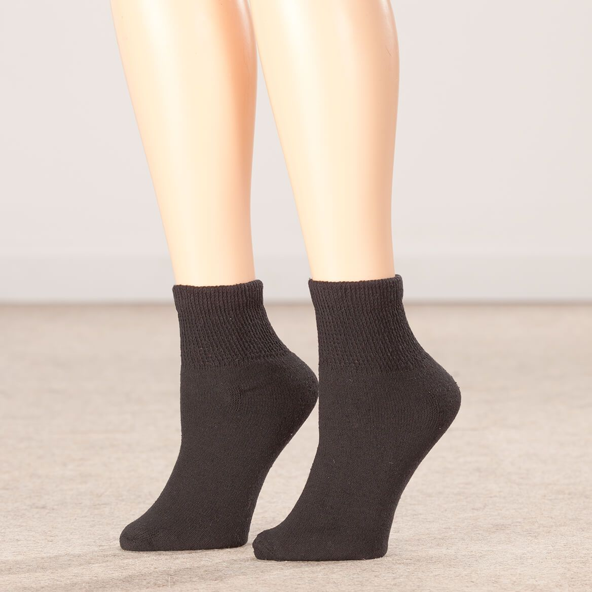 Silver Steps™ Quarter-Cut Diabetic Socks, 3 Pack-355183