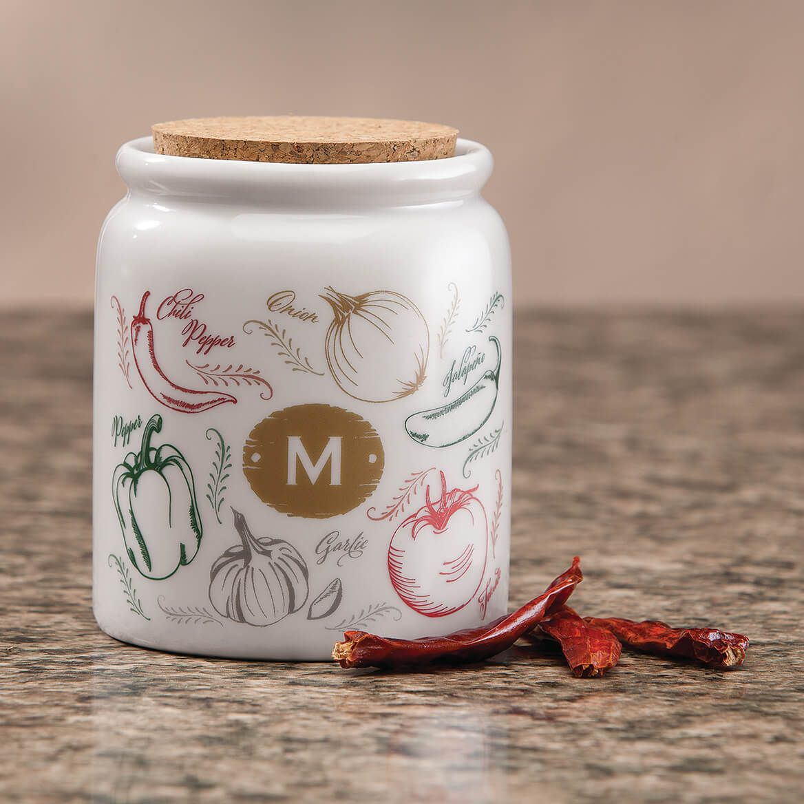 Personalized Farmers Market Salsa Spice Holder-355280