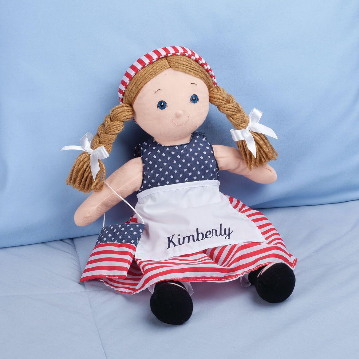 Personalized Big Sister Patriotic Dress-355385