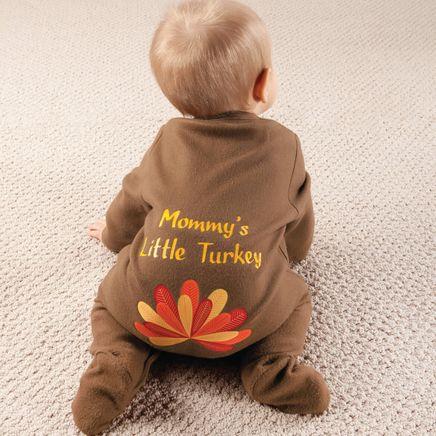 Personalized Baby Turkey Sleeper-355608