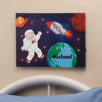 Personalized Lighted Astronaut LED Canvas-355679