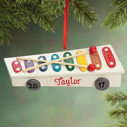 Personalized Xylophone Ornament-355783