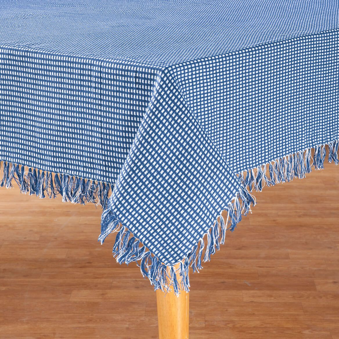 Homespun Woven Tablecloth-355815