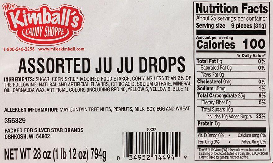 JuJu Mixed Fruit 28 oz.-355829