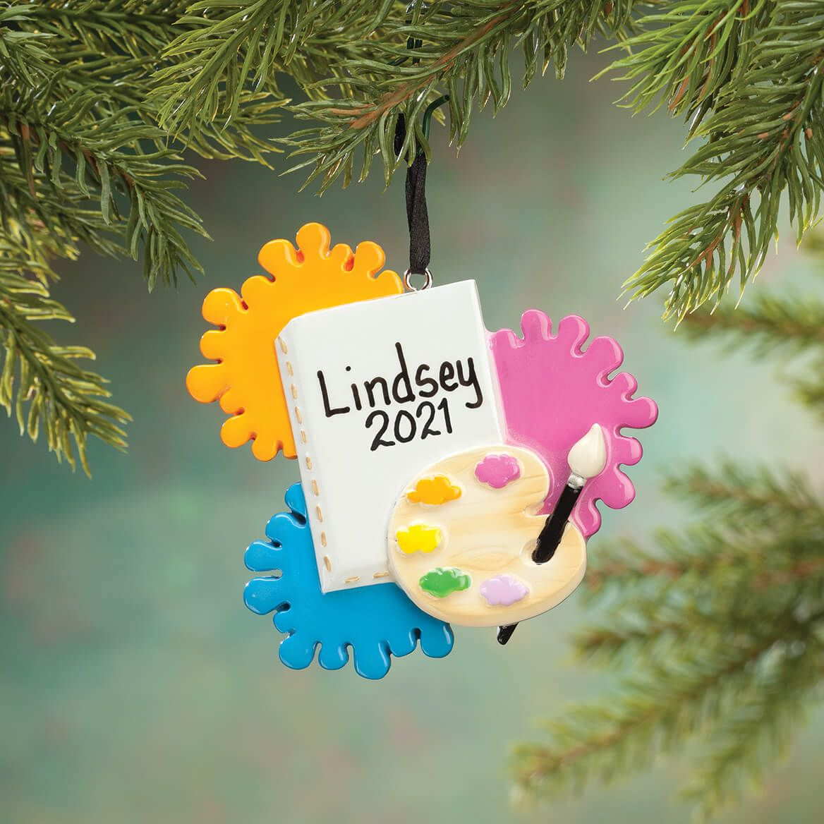 Personalized Artist Ornament-355956