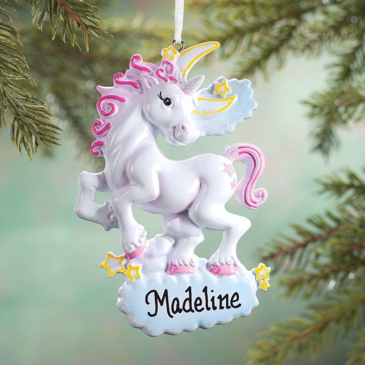 Personalized Unicorn Ornament-355968
