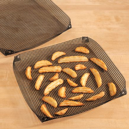 Mesh Cooking Baskets, Set of 2-356209