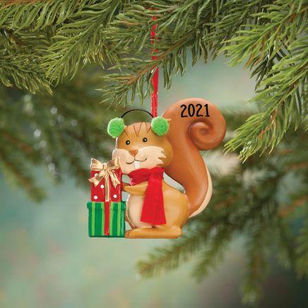 Woodland Squirrel Ornament-356350