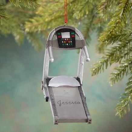 Personalized Treadmill Ornament-356351