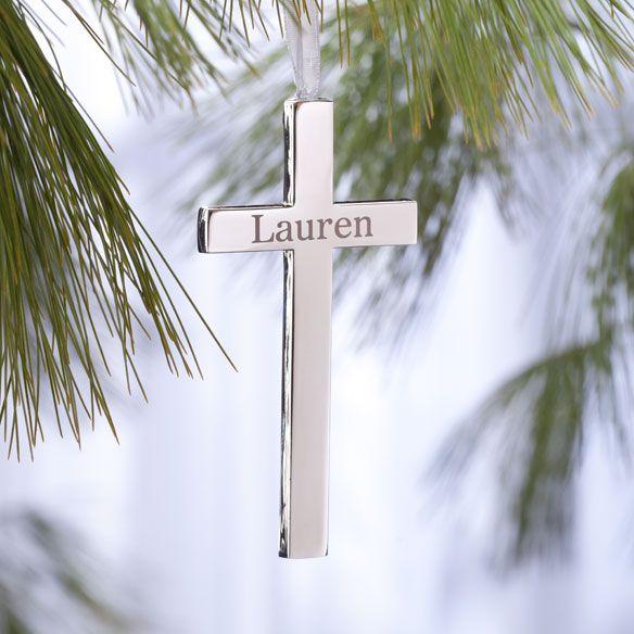 Personalized Religious Milestone Cross-356577