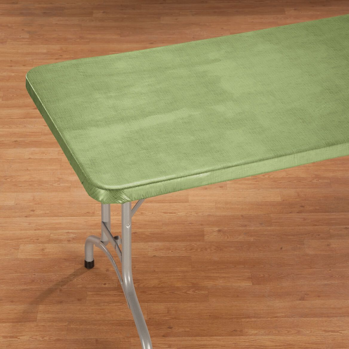 Illusion Weave Vinyl Elasticized Banquet Tablecover By Home-Style Kitchen™-356715
