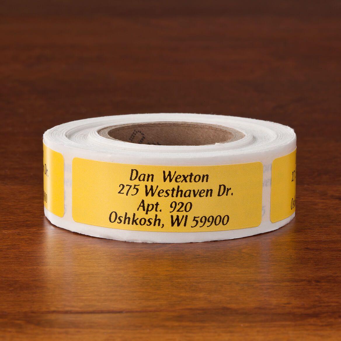 Colorful Address Labels Script Rolls of 200-357458