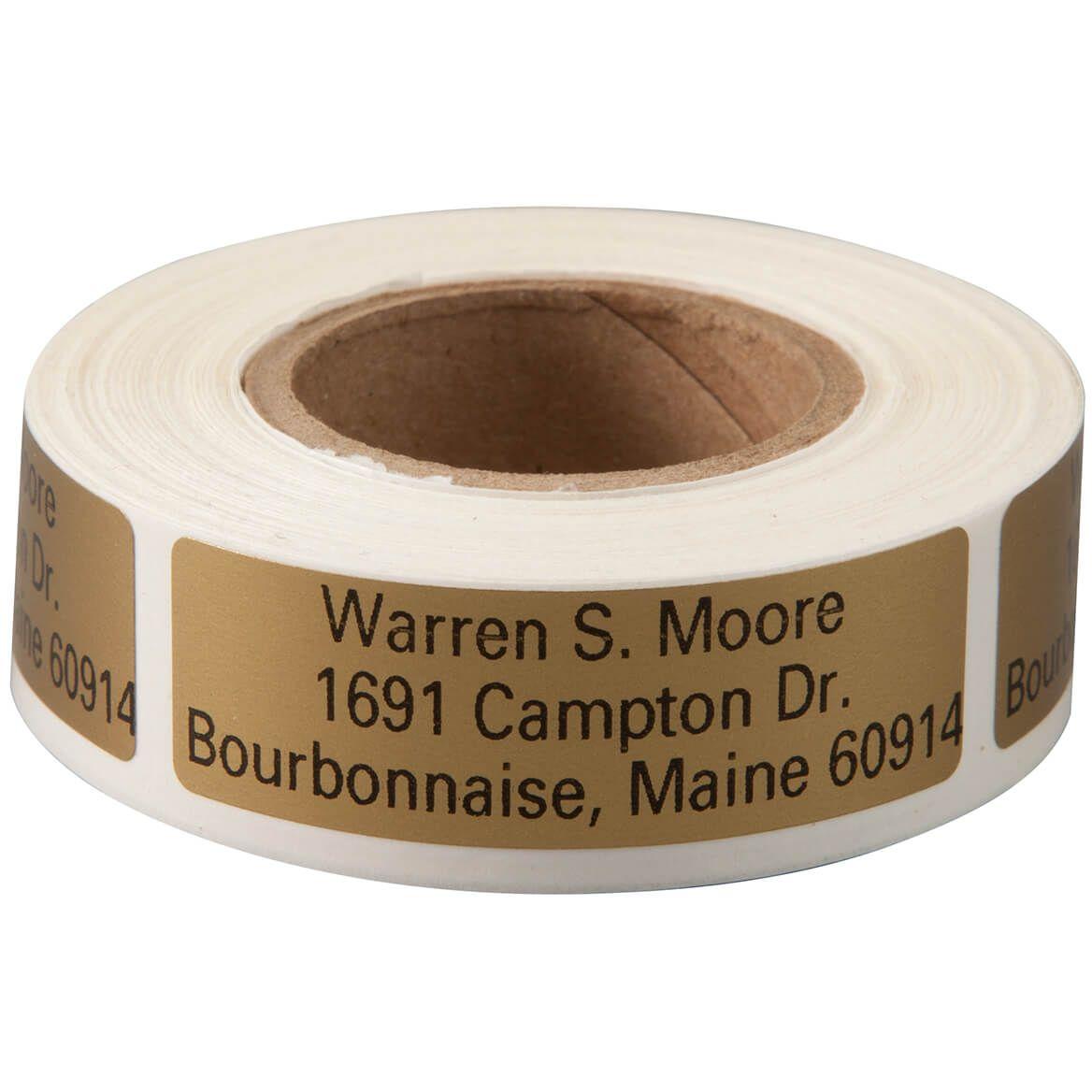 Large Print Self-Stick Address Labels - Roll of 200-357460